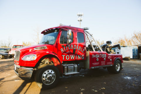 Heavy Duty Towing by Affordable Towing